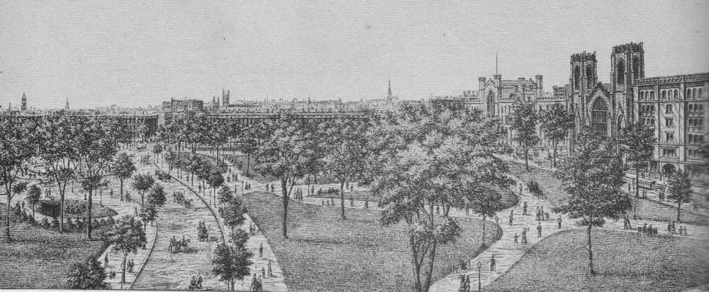 Washington Square Park 1880s