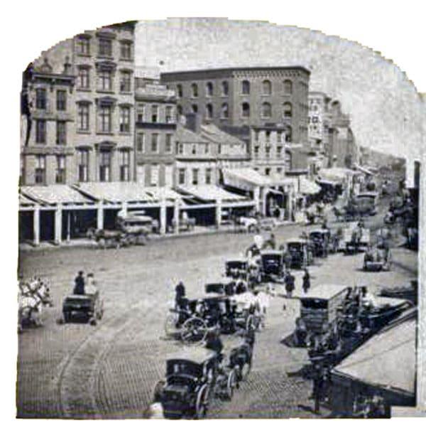 Chatham Square ca 1875
