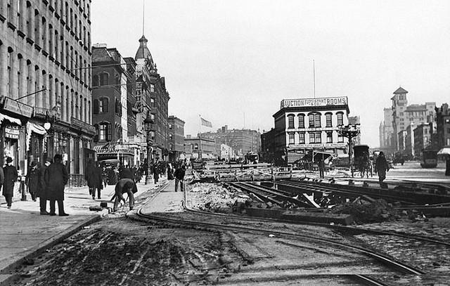 Longacre Square, ca 1895