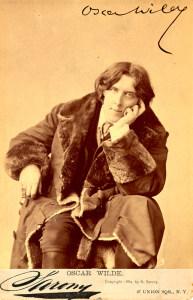 Oscar Wilde by Sarony