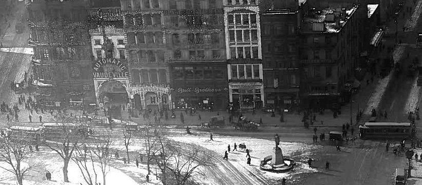 South End Union Square, from above
