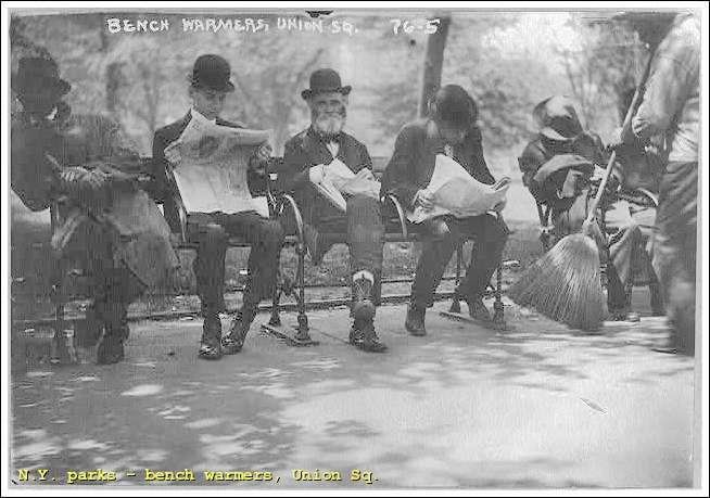union-square-bench-warmers