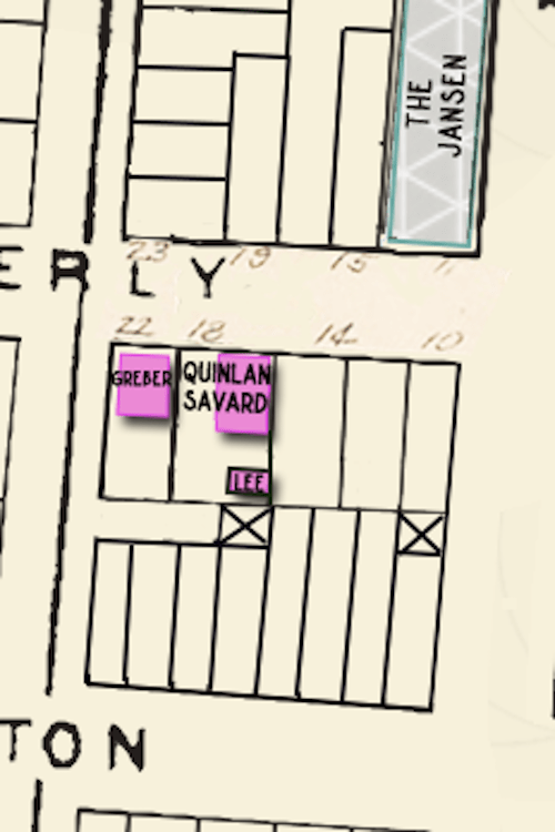 Waverly Place map detail