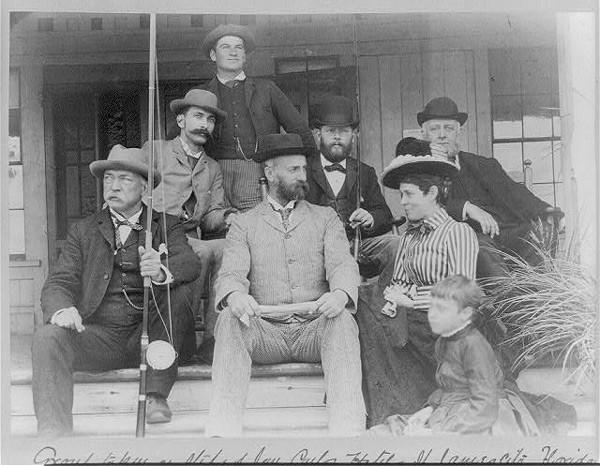 Men's Fashion, ca 1880