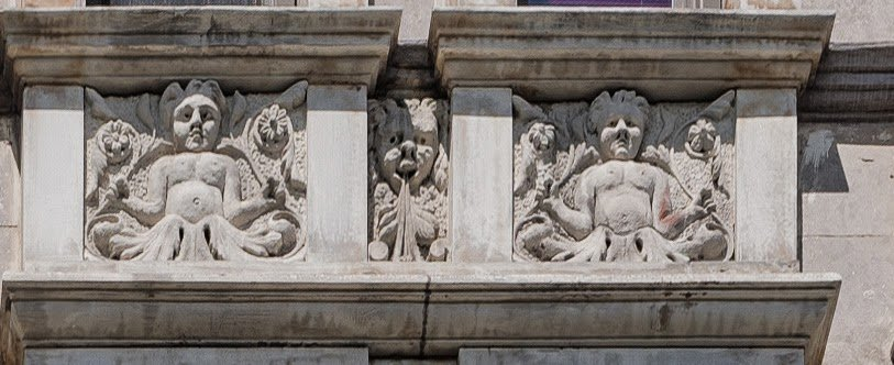 Architectural Detail, the St. George on 17th Street