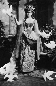 Alva Vanderbilt as a Venetian Princess taken from a picture by Cabanel.
