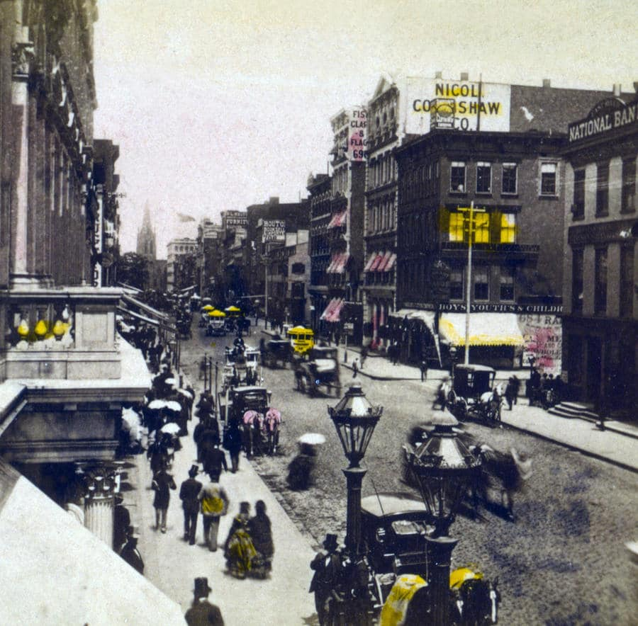 Broadway from 18th Street, 1880