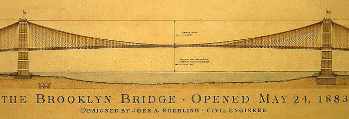 Brooklyn Bridge opening ceremony
