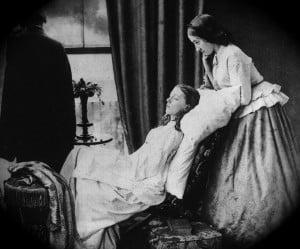 """Fading Away"" 1858. H.P. Robinson"