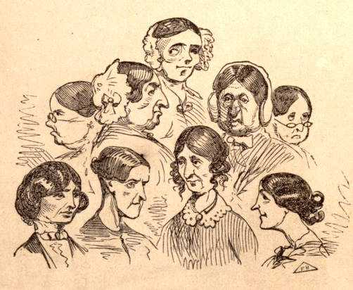 From Gunn 1857: His take on the women who ran boarding houses.