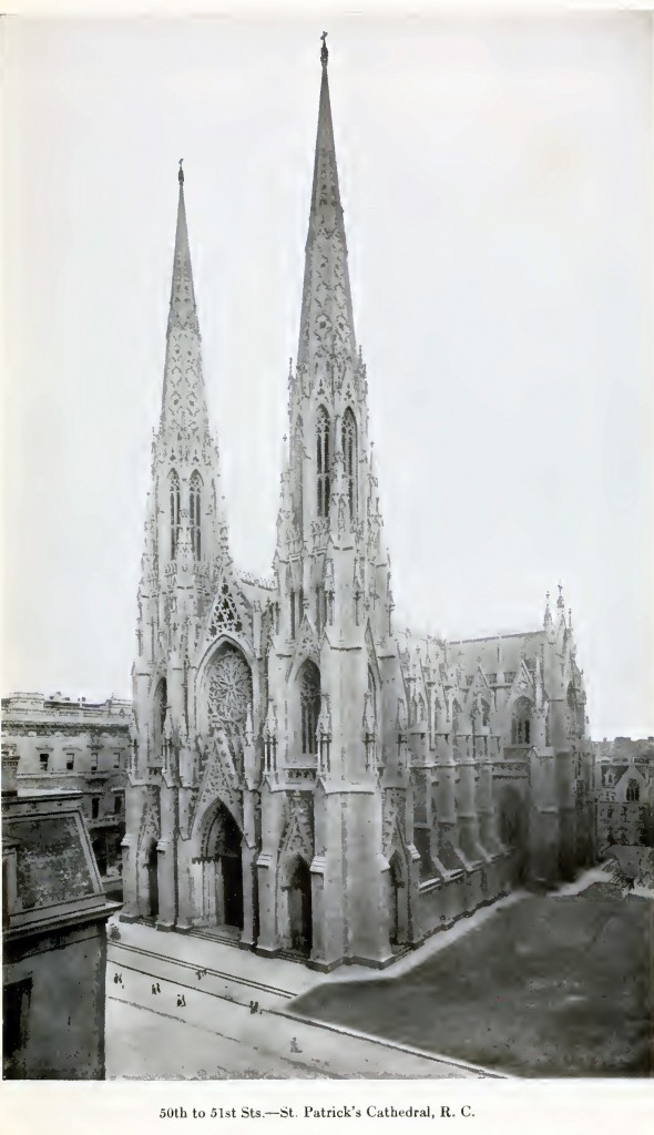 St. Patrick's Cathedral on Fifth Ave