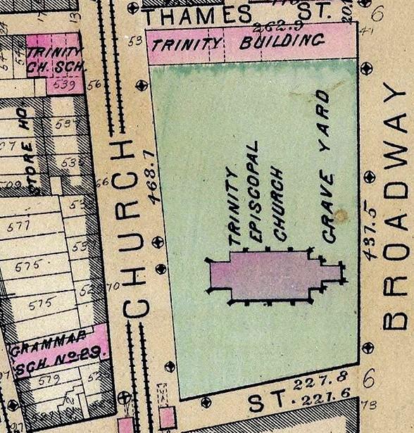 Trinity Episcopal Church map