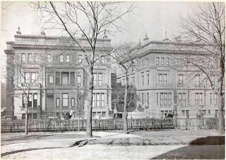 Vanderbilt triple mansions