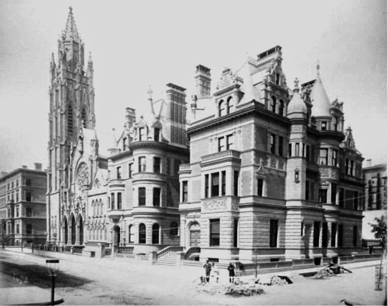Webb and Twombly Mansions at 680 and 684 5th Avenue