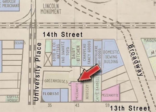 Mezzanotte holdings on Union Square