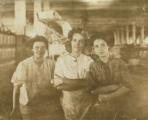 Indianapolis cotton mill workers