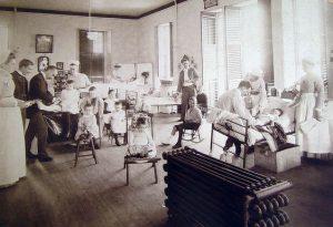 Children's Ward, ca 1880