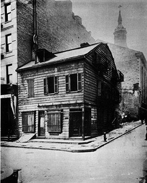 Black Horse Tavern, Mulberry and Park