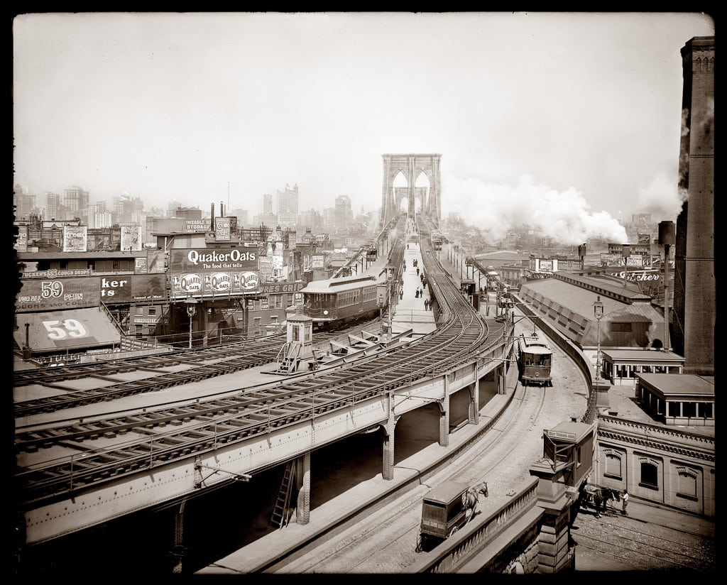 Brooklyn terminal, Brooklyn Bridge