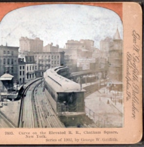 Chatham Square Elevated Curve
