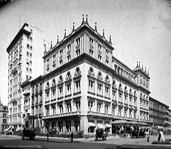 Delmonico's at 44th and Fifth Avenue
