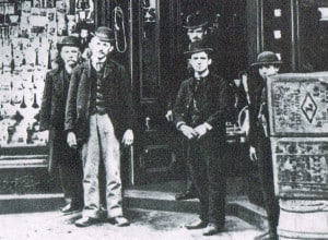 grocery store clerks 1880