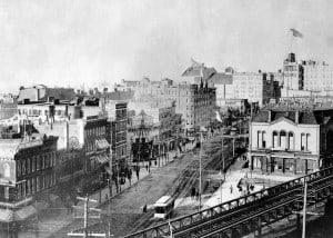 Herald Square ca 1890