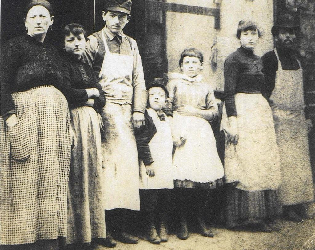 The Lustgarten family owned a kosher butcher shop on Broome Street, in an area that was home to a large population of Jews immigrating from both western and eastern Europe.