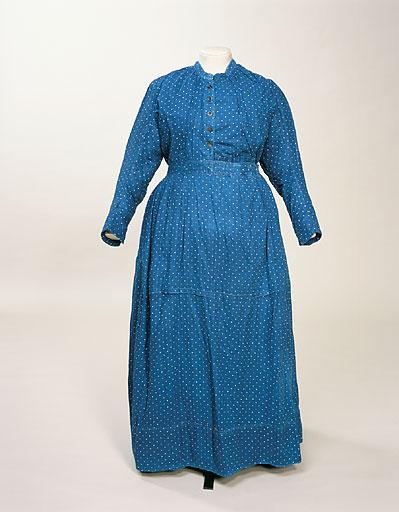 Maid's dress Date: 1880-1900 Accession Number: 1962.198 Credit: Manchester City Galleries
