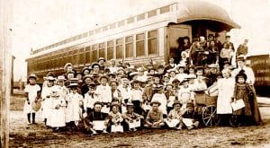 Orphan Train group photo