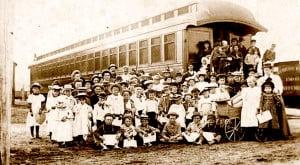 Orphan Train group photo