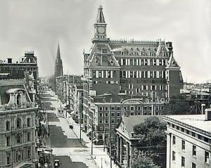 Western Union on Broadway 1880